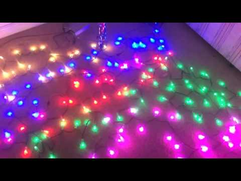 Christmas Lights Pixel Testing - Lights to Music
