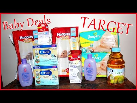 Target Baby Deals - Couponing Deals to Match With This Weeks Gift Card Promo