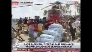 Sagip Kapamilya delivers relief goods in Hernani, Samar