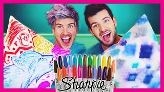 SHARPIE TIE-DYE (PINTEREST DIY TEST!)