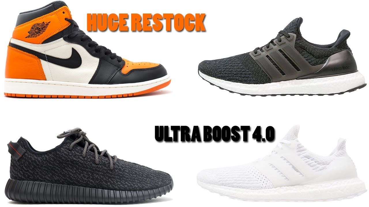 HUGE Yeezy & Air Jordan Restock, Ultra Boost 4.0 First Look, Pizza Hut Pie  Top Sneakers and More