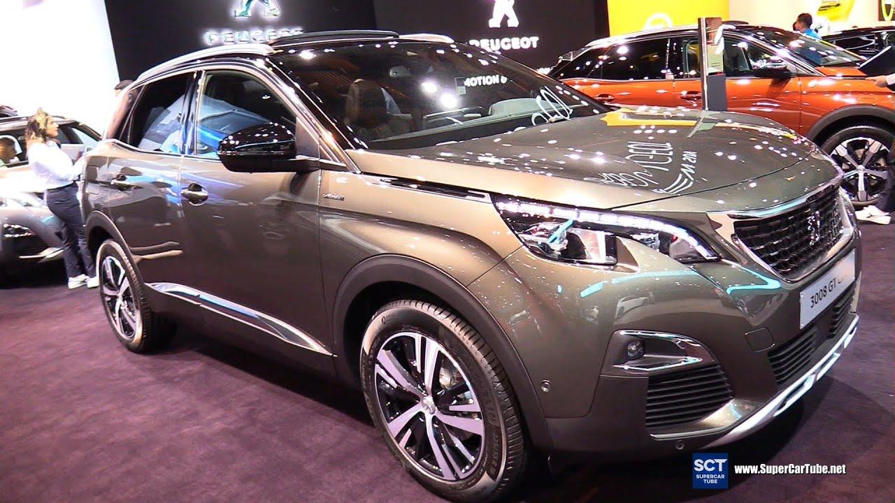 Peugeot 3008 phiên bản GT Line tại triển lãm xe ô tô