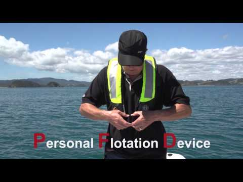 Maintaining inflatable lifejackets;  So they work if you need it too!