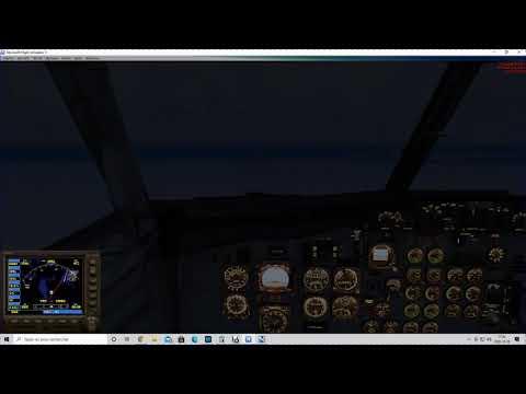 Landing At Meadowbank, Nu. Canada CMB2 B732