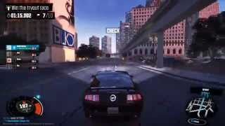 The Crew : ford mustang gameplay