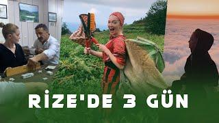 Rize Vlogu | Rize'de 3 Gün / Lazca Öğrendim, Çay Topladım