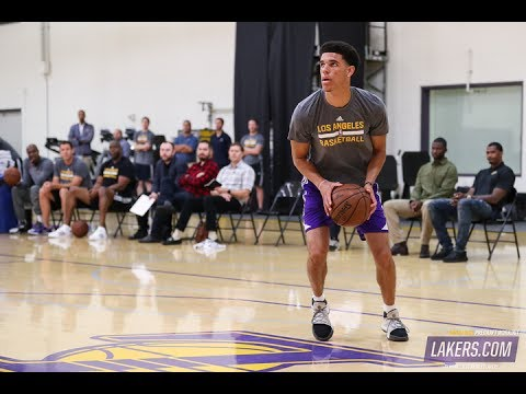Download Youtube: 5 Things Learned From Lonzo Ball Solo Workout W/ LA Lakers