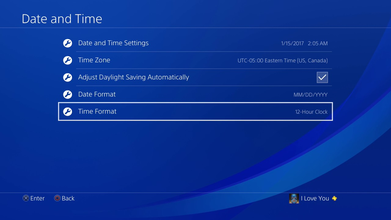 how to change username in ps4