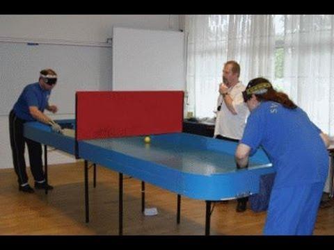 Aversa ce un tavolo da ping pong per ciechi in ripostiglio youtube - Costruire tavolo ping pong pieghevole ...