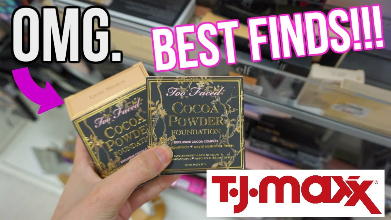 Omg Tj Maxx Finds Budget Beauty Buys High End Makeup