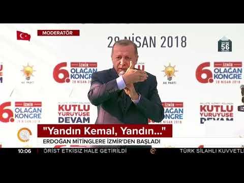 Cumhurbaşkanı Erdoğan, 24 Haziran mitinglerine İzmir'den başladı