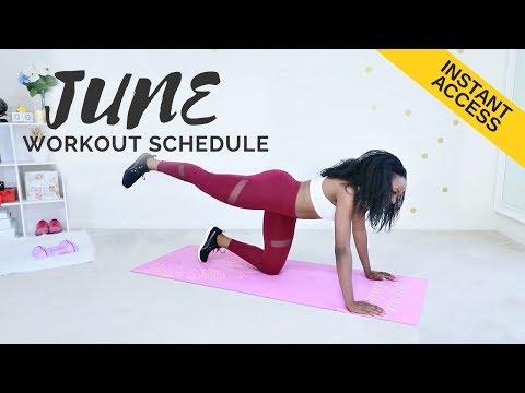INTRODUCING: June 2019 Workout Plan