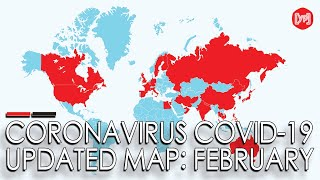 Coronavirus map: How the Covid-19 outbreak has spread around the world so far