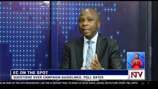 Paul Bukenya answers questions on campaign guidelines, poll dates