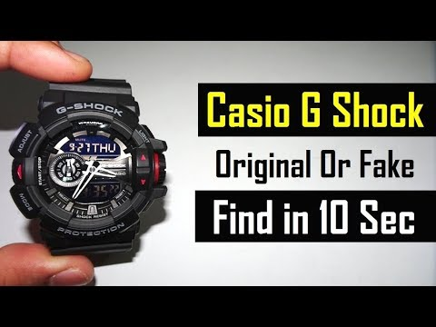 b83d5165d507 CASIO G SHOCK GA 400CS   HOW TO SETTING