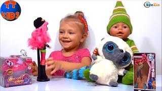 ✔ Кукла Беби Борн и девочка Ярослава открывают подарки / Baby Born Doll / Monster High / Yoohoo Toy