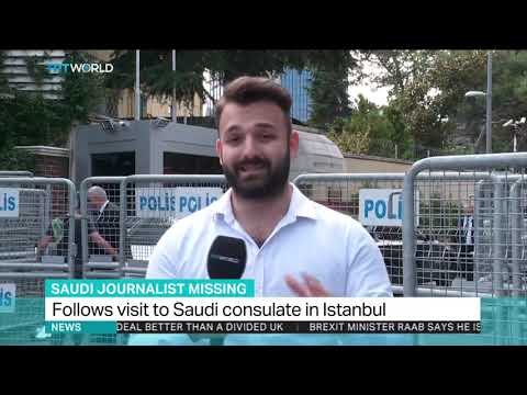Journalist missing after visiting Saudi consulate in Istanbul
