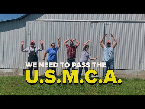 MOFB CHANNELS VILLAGE PEOPLE TO SUPPORT USMCA PASSAGE