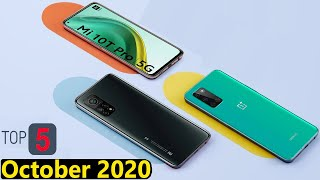 Top 5 UpComing Mobiles in October 2020 Price with Launch Date in india