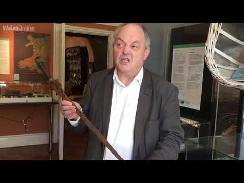 An 18th century Asian sword has been found on a Welsh riverbed   Wales Online
