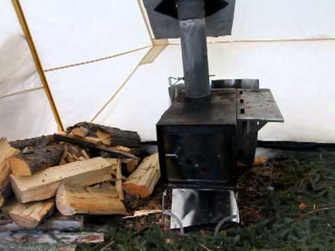The Hot Tent - Red Lake Outfitters & The Hot Tent - Red Lake Outfitters - YouTube