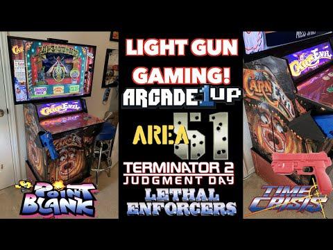 CarnEvil Cabinet Arcade Gameplay! | Modded Arcade1Up from Killer Arcade Games