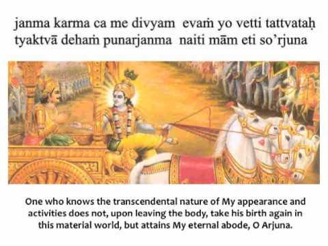 Bhagavad Gita Chapter 4 Verse 9 Youtube