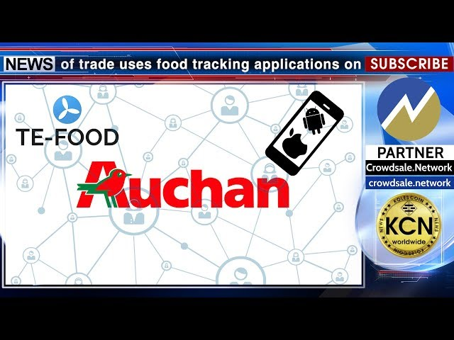 KCN Tracking food using a blockchain