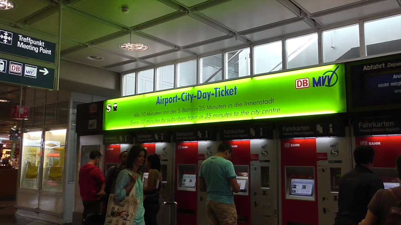Walking around munich airport center level 3 youtube - Fundburo s bahn munchen ...