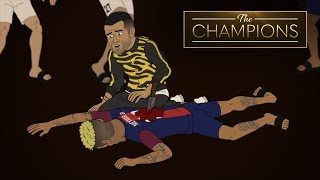 Who Killed Neymar At The Champions House Dinner Party? | The Champions S1E8