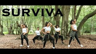 Survivaa   Vivegam   Anirudh   Lady Rogue   Ajith Kumar  Dance  