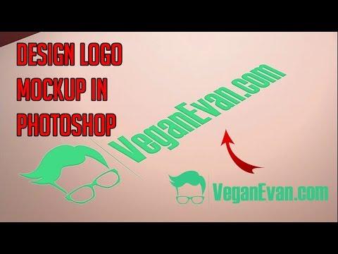 Logo Mockup Design In Photoshop - Logo Mockup Tutorial thumbnail