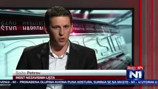 N1 Pressing: Božo Petrov (12.10.2015)
