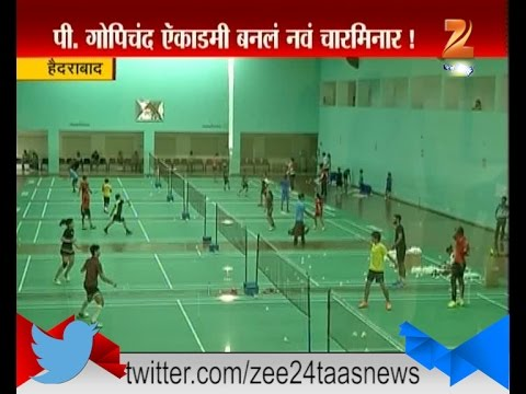 Hyderabad । Pullela Gopichand's academy। Hiranchaya Khannitun | 27th August 2016