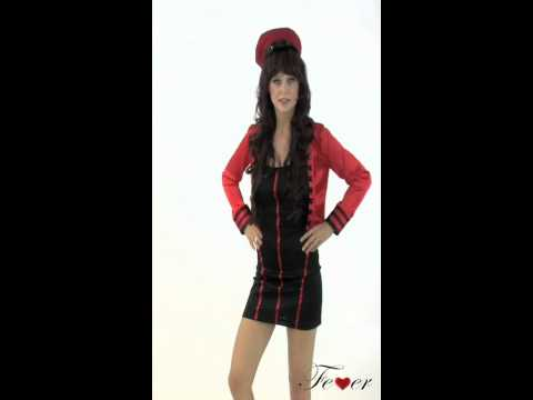 Fever Military Popstar Costume from UKPartyWarehouse