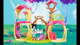 "Куклы ""Волшебные балерины"" Enchantimals, Лесной замок пандочки Энчантималс, Mattel."