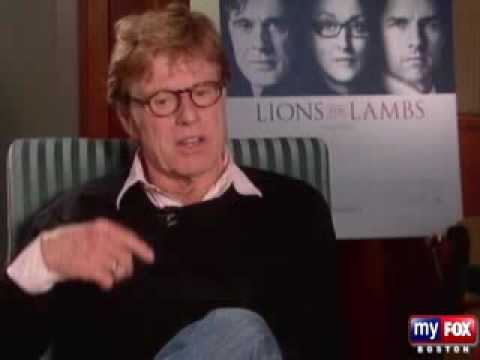Robert Redford interview  - Lions for Lambs