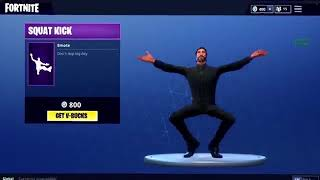 Fortnite Squat Kick Trap Remix 1 HOUR