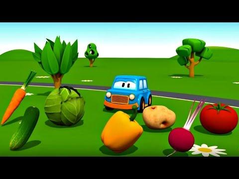 Eğitici çizgi film - Akıllı arabalar - Sebzeler - Türkçe