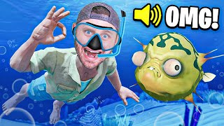 We found TREASURE at The BOTTOM of the OCEAN (RAFT)