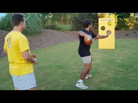 Get In The Game: How To Build A Football Wall Toss Game