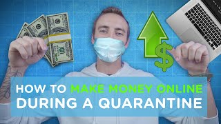 With everything going on in the world right now, i wanted to make a video about how money online during quarantine case it can help anyone! now ...