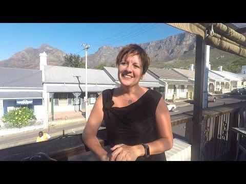 Agnès, restauratrice expatriée à Cape Town en Afrique du Sud