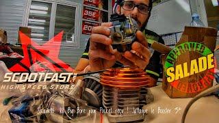 #Salade93: J'ai Reçu mon Kit Big Bore pour la PoCKeT📦/On Commence le Projet Booster Most Level4👿🛠