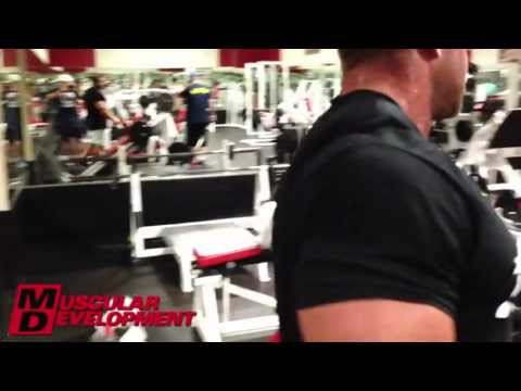 JAY CUTLER -  LEGS WORKOUT 2.5 WEEKS OUT  2013 MR OLYMPIA