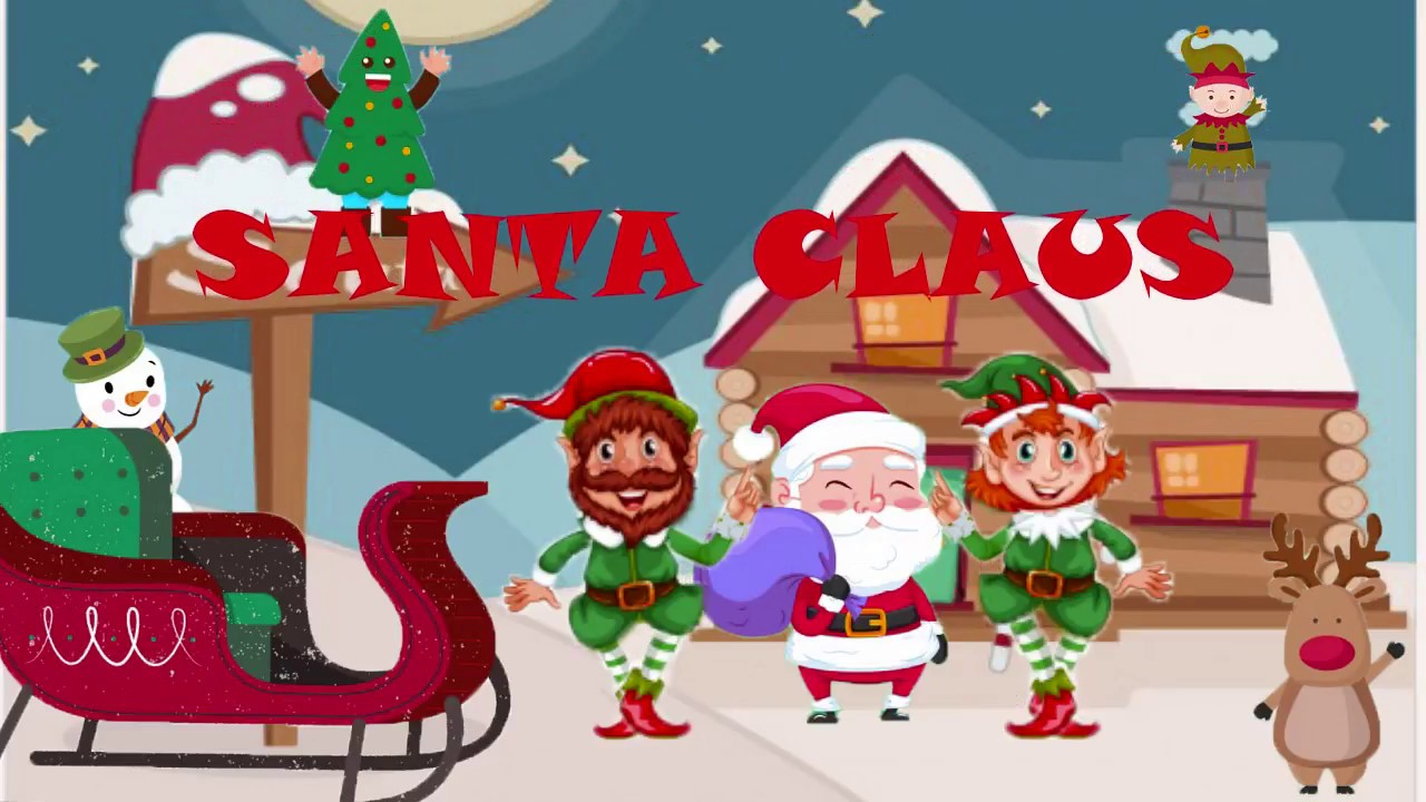 He Has A Red Red Coat | His name is Santa Claus | Chistmas Song ...