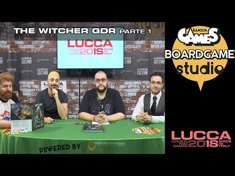 [Lucca Comics & Games] Boardgame studio: The Witcher GDR parte 1