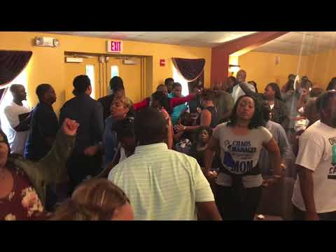 Crazy Praise Break at The Harvest Tabernacle Church!!! 7/15/18