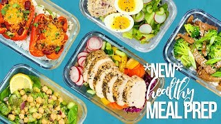 5 NEW Healthy Meal Prep Ideas | New Year 2018
