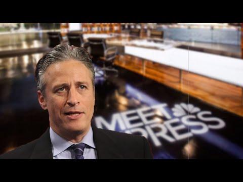 Would Hosting Meet The Press Ruin Jon Stewart?